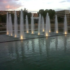 Photo taken at Madrid Río (Sector Central) by Marian on 9/16/2012