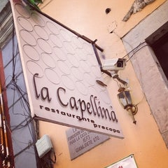 Photo taken at La Capellina by Diana A. 🍒 on 3/28/2013