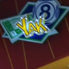 Photo taken at Yak by Dorian J. on 2/18/2013