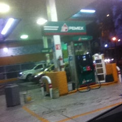 Photo taken at Gasolinería by Dorian J. on 5/21/2013