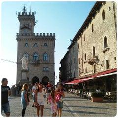 Photo taken at Palazzo Di Governo San Marino by Giulia R. on 8/12/2015