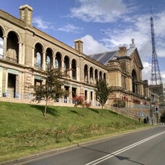 Photo taken at Alexandra Palace by Terence L. on 10/10/2014