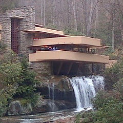 Photo taken at Fallingwater by Larry S. on 3/31/2013