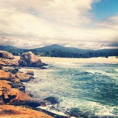 Photo taken at Praia da Ferrugem by Nicole M. on 11/13/2012