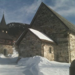 Photo taken at Åre gamla kyrka by Zot L. on 3/21/2013