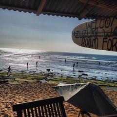 Photo taken at Balangan Beach by Ekaterina G. on 9/6/2013