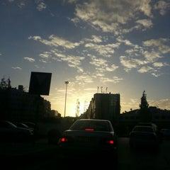 Photo taken at Waha Circle | دوار الواحة by Leen S. on 11/22/2012