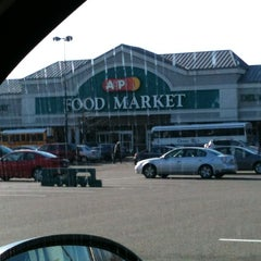 Photo taken at A&P Supermarket by DJ LIL JOE on 1/7/2013