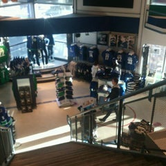 Photo taken at Canucks Team Store by Risto M. on 1/12/2013