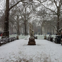 Photo taken at Berkeley Square by Muhanad A. on 1/18/2013