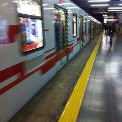 Photo taken at Metro Los Leones by Fernando  on 9/16/2013