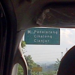 Photo taken at Gerbang Tol Padalarang by Tetty S. on 4/18/2014