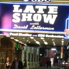 Photo taken at Ed Sullivan Theater by Steve A. on 10/16/2012