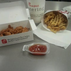 Photo taken at Chick-fil-A by Amanda M. on 10/12/2012