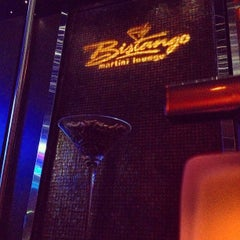 Photo taken at Bistango Martini Lounge by Paul C. on 8/21/2013