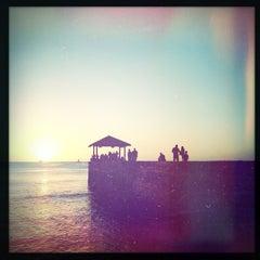 Photo taken at Waikiki Beach Walls by Mark S. on 1/23/2013