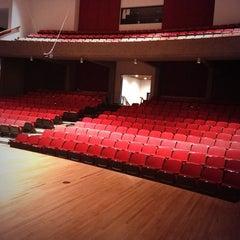 Photo taken at Strauss Performing Arts Center by Kristina B. on 10/19/2013