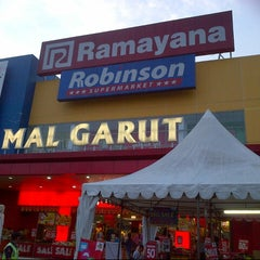 Photo taken at Ramayana Mall Garut by moth1323 on 6/4/2014