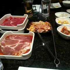 Photo taken at Korean Grill House by Nhien N. on 10/28/2012