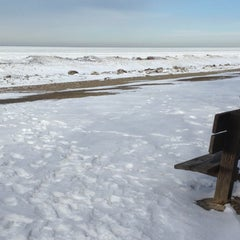 Photo taken at Presque Isle State Park by Kate W. on 2/10/2013