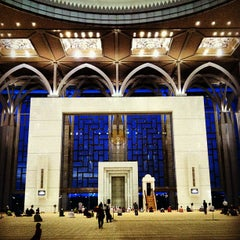 Photo taken at Masjid Tuanku Mizan Zainal Abidin (Masjid Besi) by Sol B. on 2/20/2013