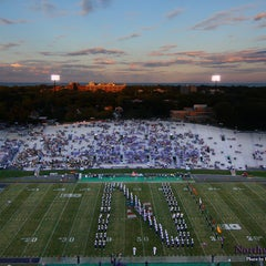 Photo taken at Ryan Field by Northwestern University Bands on 9/15/2012