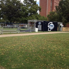 Photo taken at South Oval by Madster on 10/4/2013