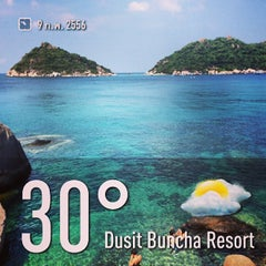 Photo taken at Dusit Buncha Resort by Hutchy on 2/9/2013