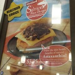 Photo taken at MOS Burger by Sean C. on 12/18/2013
