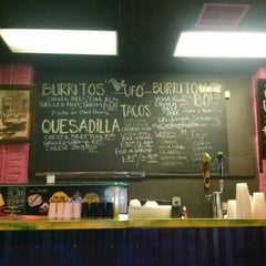 "Photo taken at A1A Burrito Works "" The Taco Shop"" by Alida M. on 7/21/2013"
