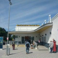 Photo taken at Southampton Central Railway Station (SOU) by Radek S. on 6/1/2013