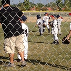 Photo taken at El Cerrito Sports Park by Michelle S. on 11/3/2012