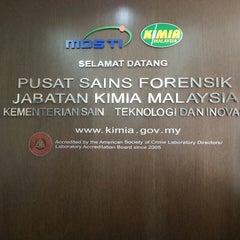 Photo taken at Jabatan Kimia Malaysia by Farah H. on 3/15/2013