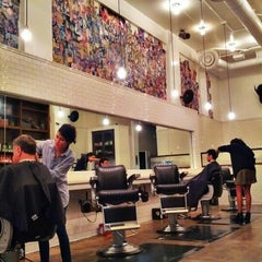 Photo taken at Rudy's Barbershop by APEX T. on 11/18/2012