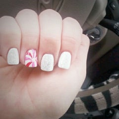 Photo taken at VIP Nails by Casey N. on 12/8/2012