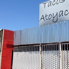 Photo taken at Tacos Atoyac by Demetrio C. on 6/4/2013