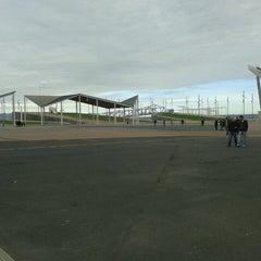 Photo taken at Parc del Fòrum by emigmg on 11/11/2012