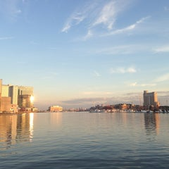 Photo taken at Inner Harbor by Boram K. on 1/8/2013