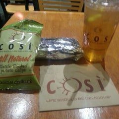 Photo taken at Cosi by Kymberly T. on 1/7/2013