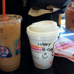 Photo taken at Dunkin' Donuts by Angeline D. on 4/26/2013
