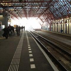 Photo taken at Station Almere Centrum by Mirko M. on 3/14/2013