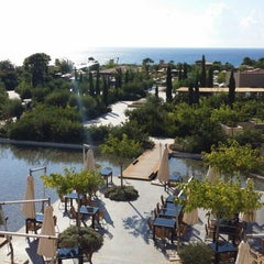 Photo taken at The Westin Resort, Costa Navarino by Tasos S. on 9/10/2014