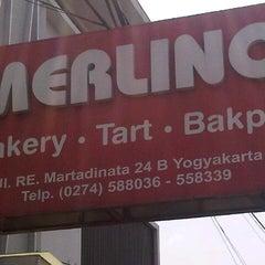 Photo taken at Merlino Bakery, Tart & Bakpia by Six A. on 9/16/2012