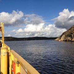 Photo taken at Gullmarsfärjan by Luca M. on 10/4/2012