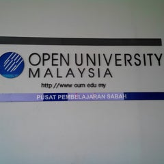 Photo taken at Open University Malaysia, Sabah (OUM) by Suhaimi K. on 10/11/2013