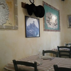"""Photo taken at Osteria """"I Tri Pataca"""" by Michael F. F. on 4/27/2013"""