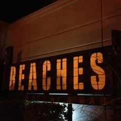 Photo taken at Beaches Restaurant & Bar by Justen M. on 11/25/2012