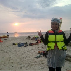 Photo taken at Umang Island Resort by Mila M. on 10/25/2013
