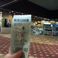 Photo taken at AMC Cinema by Afiq F. on 7/26/2013