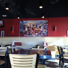 Photo taken at Qdoba Mexican Grill by Stephen B. on 1/19/2013